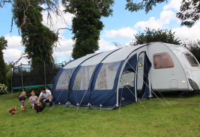 Der Mini- Campingplatz