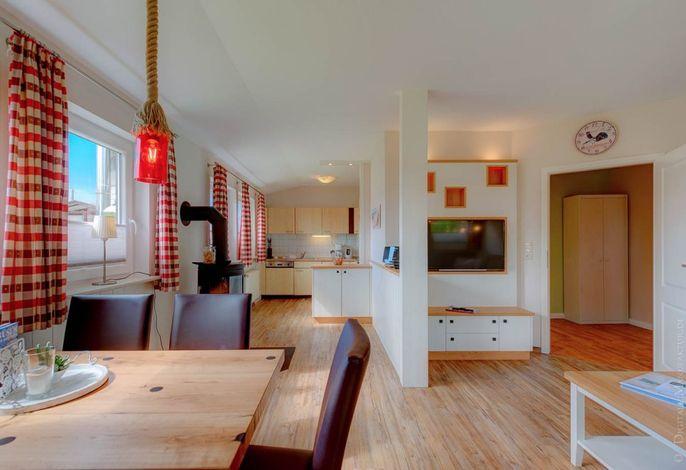 Komfort-Ferienhaus Wohnraum
