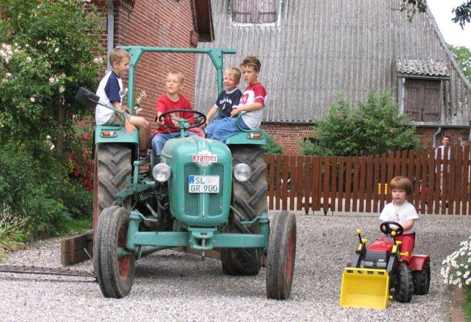 Unser grüner Traktor