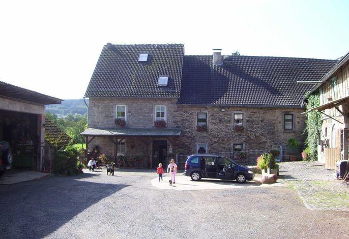 Schneidmühle, Innenhof
