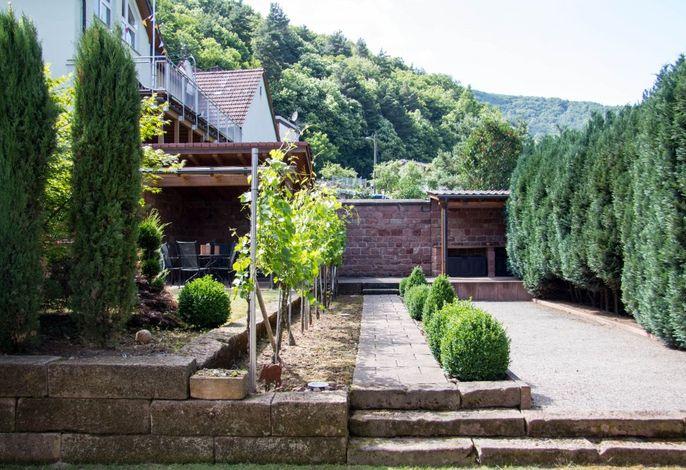 Burgunderhof Garten