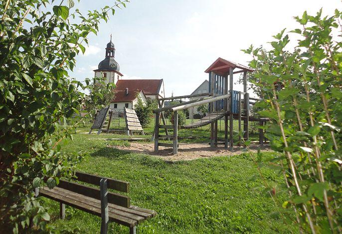 Spielplatz am Hof