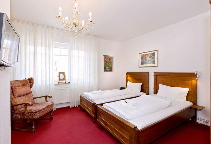 Rotes Zimmer- Schlafzimmer
