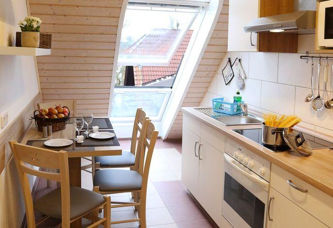 Fewo Weitblick im Landhotel: Küche