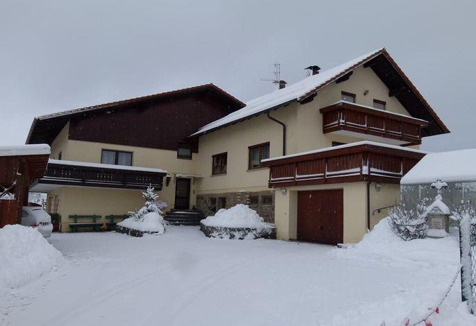 Ferienhaus Rank im Winter