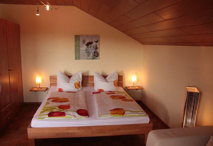 Schlafbereich Apartment 3Pers mit Küche