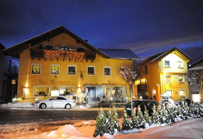 Weihnachten im Hotel Metzgerei Ferienhaus Rösslwirt