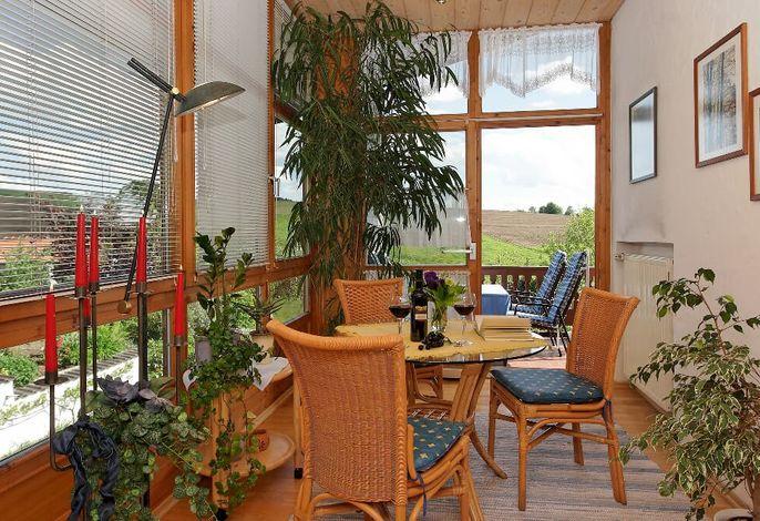 Wintergarten FeWo mit Balkon