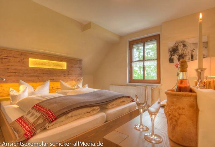 Unsere komfortablen Landhaus-Doppelzimmer