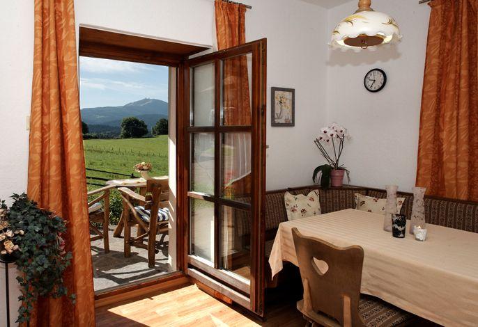 Terrassenwohnung Wohnraum