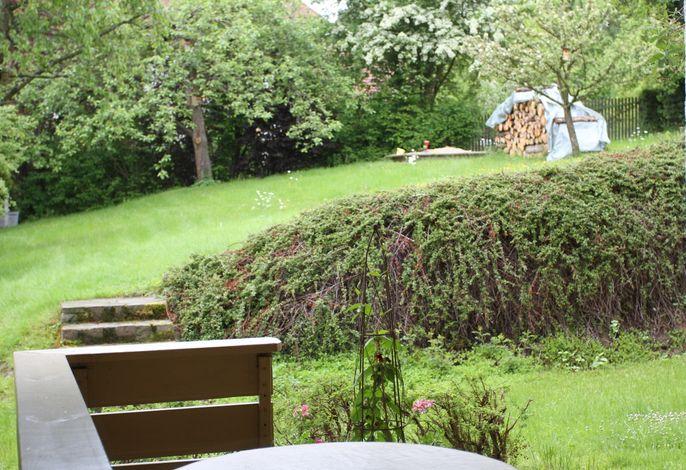 Garten mit Hollywoodschaukel