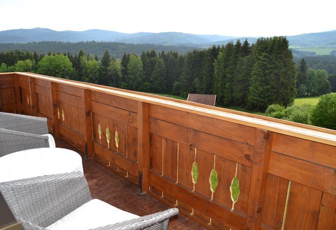 Balkon Fewo 7 mit Ausblick