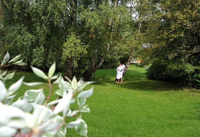 Gartenanlage, Hotel Bayerwald