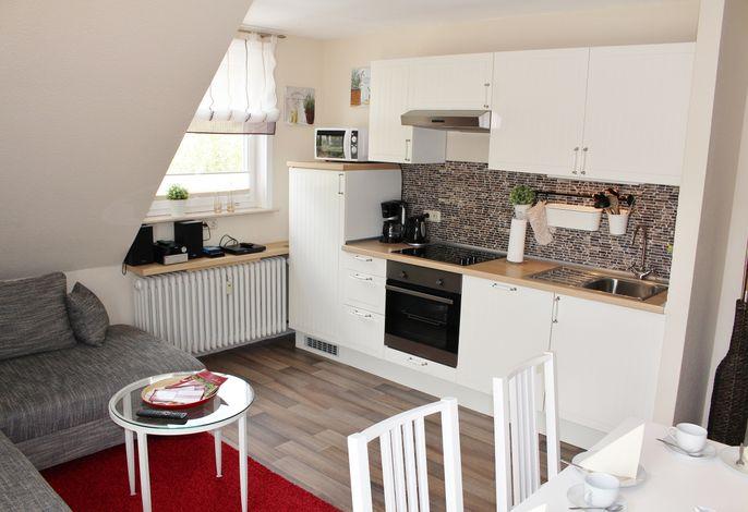 Fewo 5 Wohnzimmer/Küchenzeile