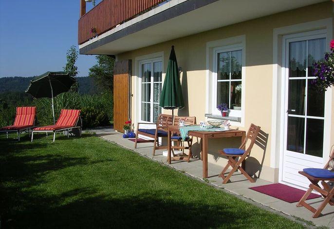 Garten vor Ihrer Küche und Schlafzimmer