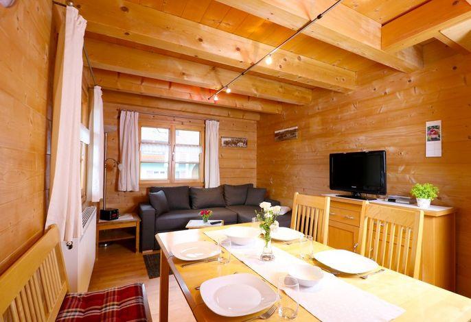 Ferienwohnung Kapellenblick - Wohnraum