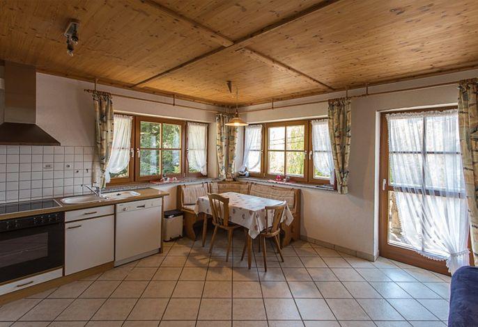 große Fewo Leibgedinghaus - Wohnküche