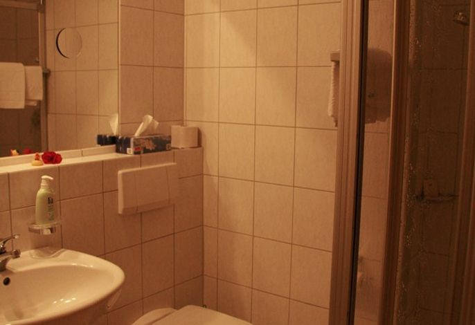 Bad/DU/WC/Einzelzimmer