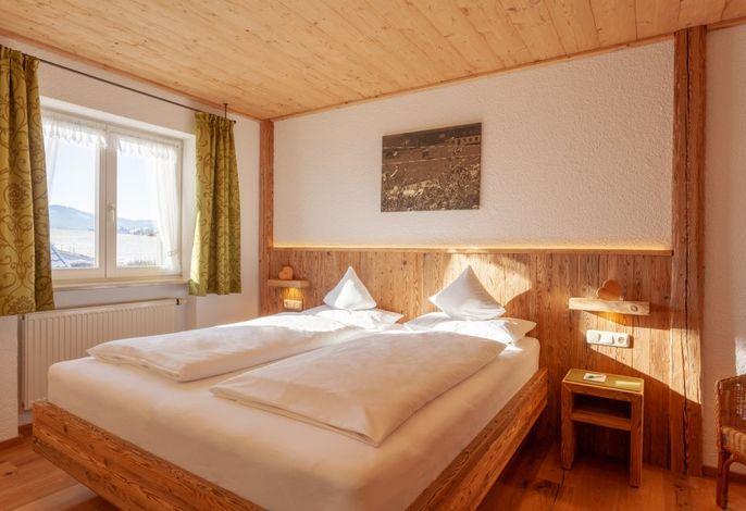 FeWo Hochgratblick Schlafzimmer