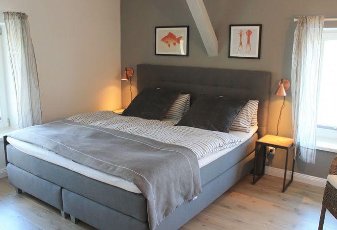 Schlafzimmer Gartenappartement
