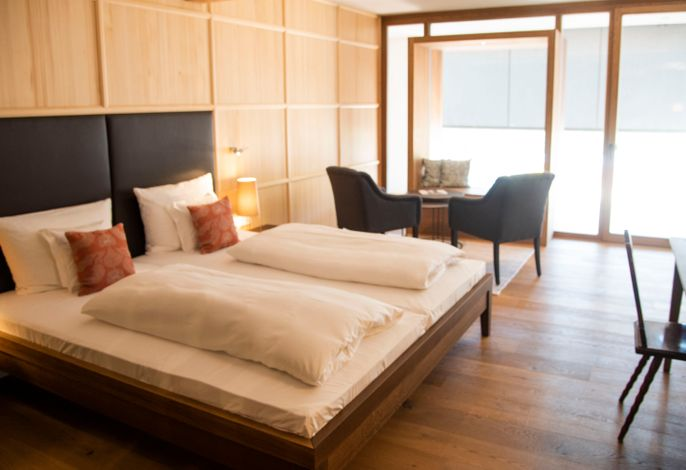 Doppelzimmer Premium mit Balkon