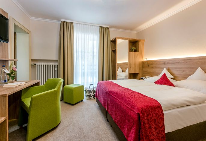 Hotel Eisvogel Bad Gögging Doppelzimmer Abens