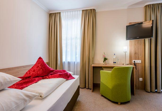 Hotel Eisvogel Bad Gögging Einzelzimmer Abens