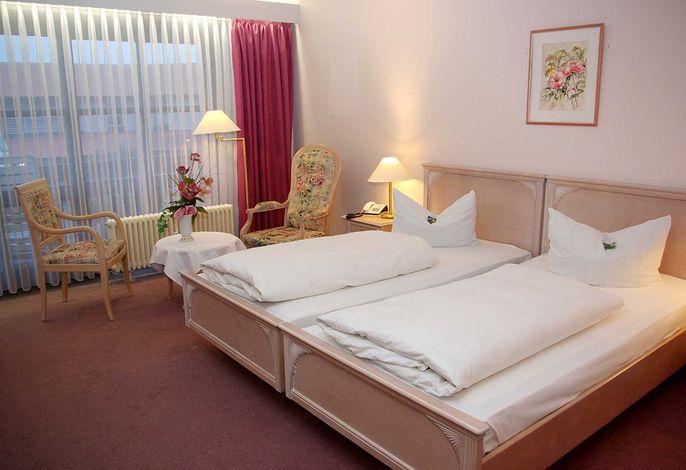 Hotel Centurio Bad Gögging Doppelzimmer im ital. Design