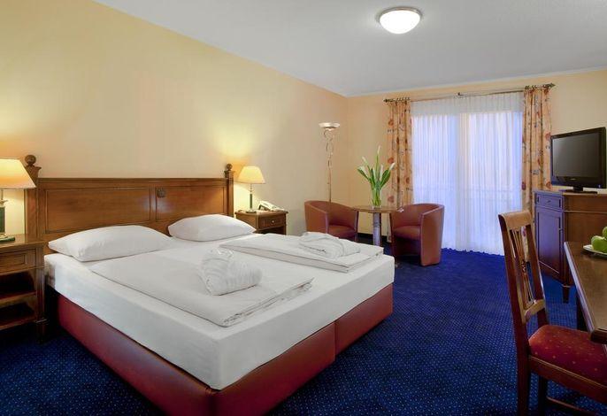 Deluxe Zimmer mit Doppelbett, Golfplatzseite
