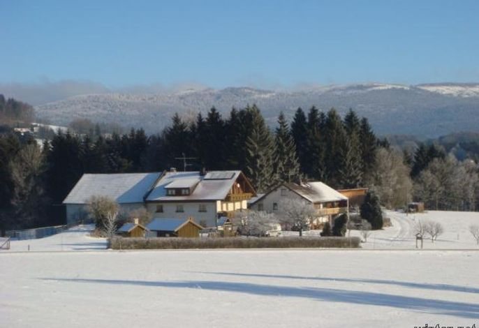 Winter in Loiblau