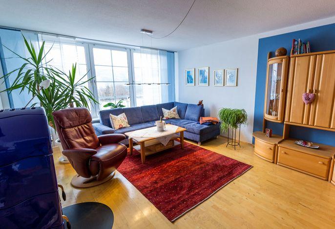 Ferienwohnung Biggesee Wohnzimmer