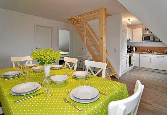 Wohnraum mit einem Küchentraum