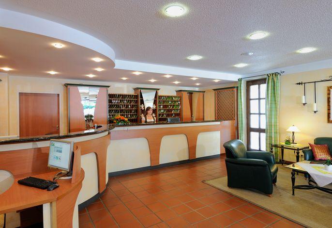 Vital-Hotel Jagdhof Rezeption