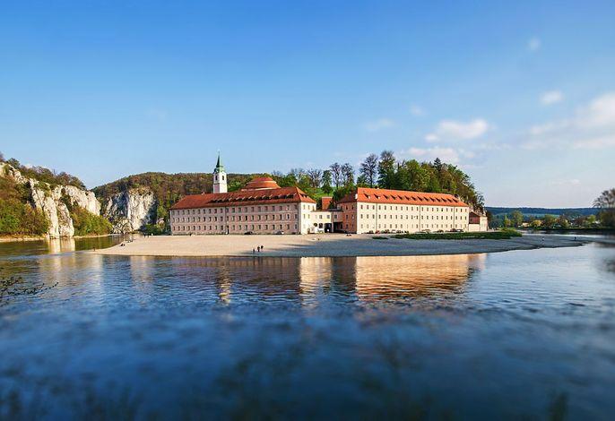 Kloster Weltenburg im Frühling
