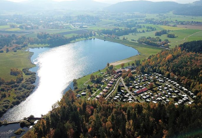 Ferienpark direkt am Perlsee