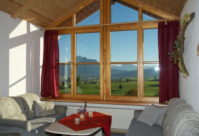 Panoramablick Wohnzimmer