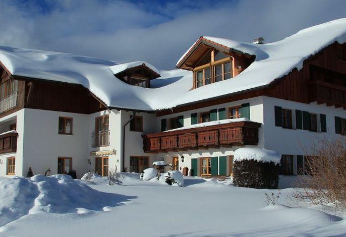 Berghof Kinker im Winter
