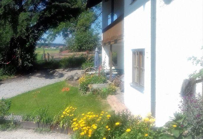 Daheim - Umgeben von Natur - durch die Terrassentür direkt ins Grüne