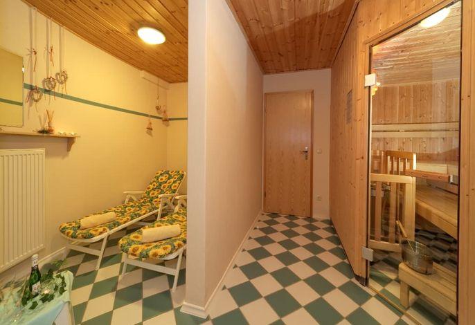 Der Saunabereich für unsere Gäste