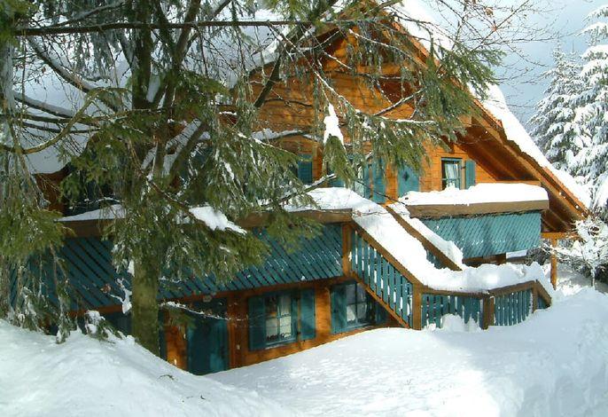 Winterurlaub im Schnee