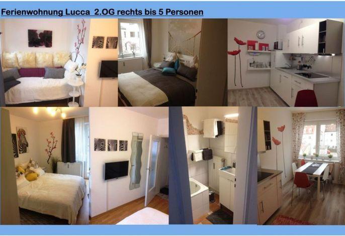 Apartment Lucca- bis 5 Personen