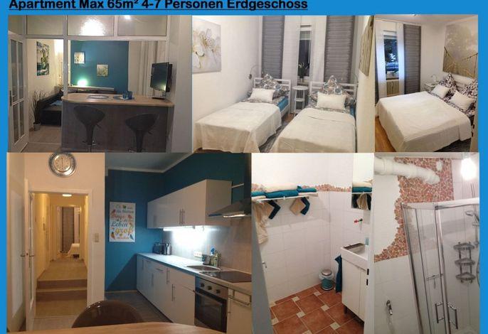 Apartment Max- bis 7 Personen