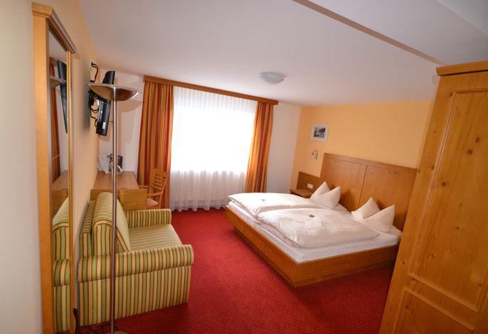Komfort-Doppelzimmer Schlafbereich