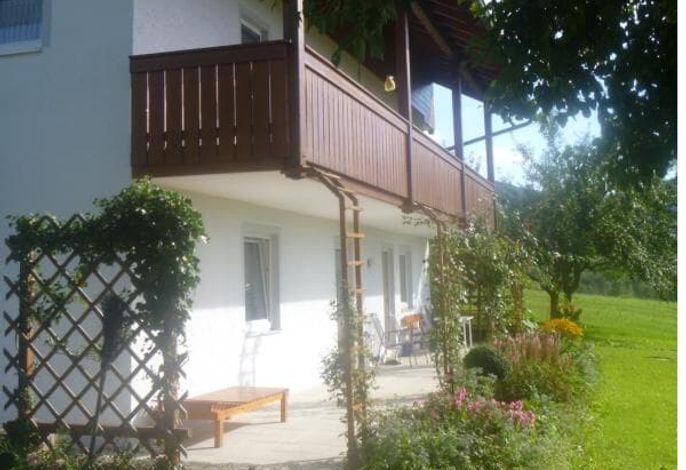 große Wohnung - Terrasse