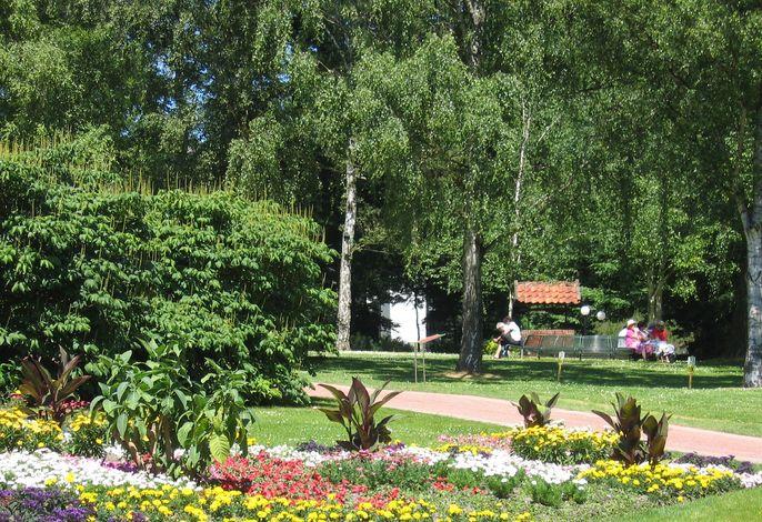 Klanggarten im Kurpark