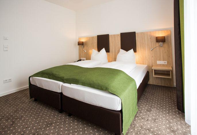 Doppelzimmer Komfort - Schlafbereich