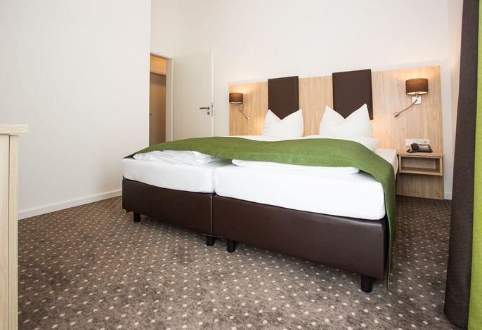 Zimmeransicht / Schlafzimmer Ferienwohnung