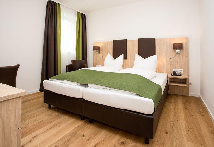Zimmeransicht / Schlafbereich Ferienwohnung
