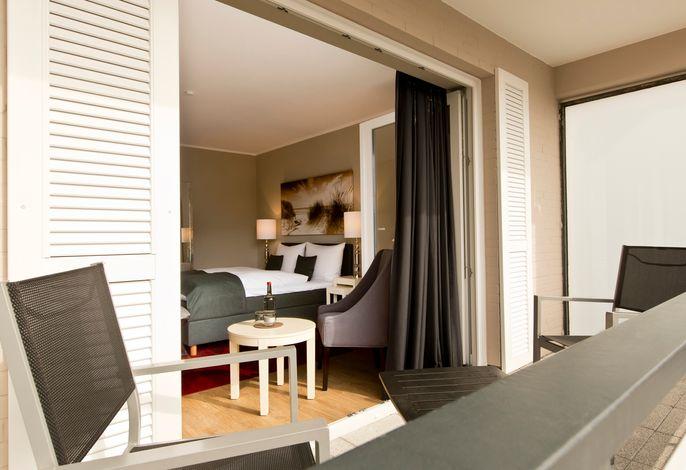 Wohnbeispiel Doppelzimmer zur Südbalkon