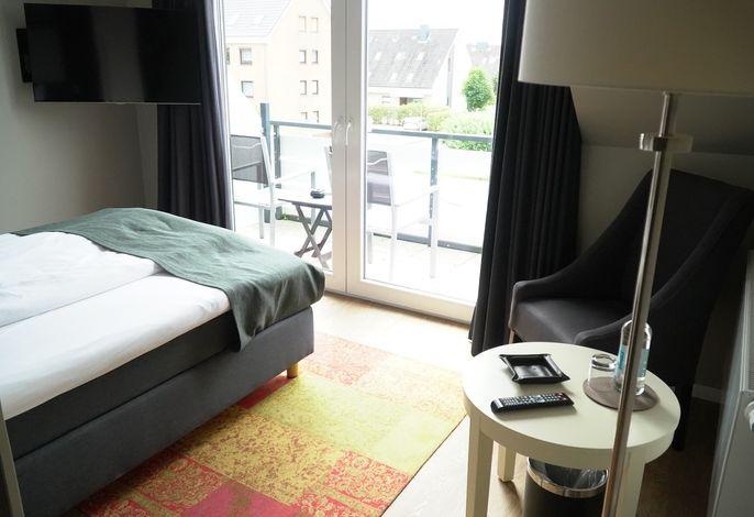Kleines Doppelzimmer mit Balkon